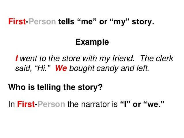Point of View in Fiction: First Person, Third Person & More ...
