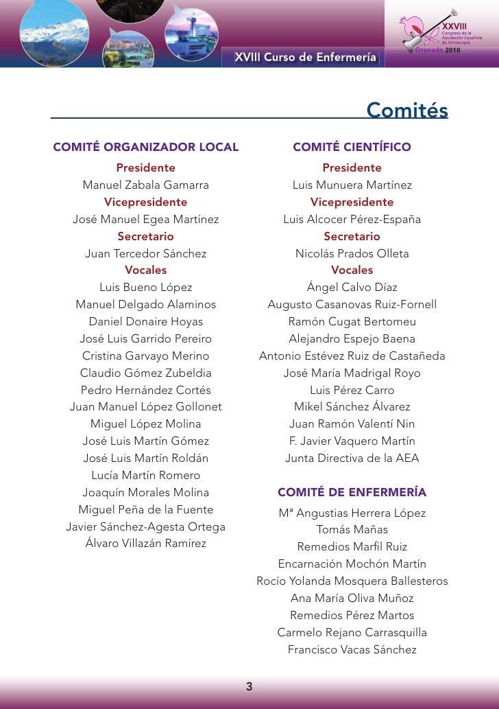 Comités COMITÉ ORGANIZADOR LOCAL                  COMITÉ CIENTÍFICO             Presidente                          Presid...