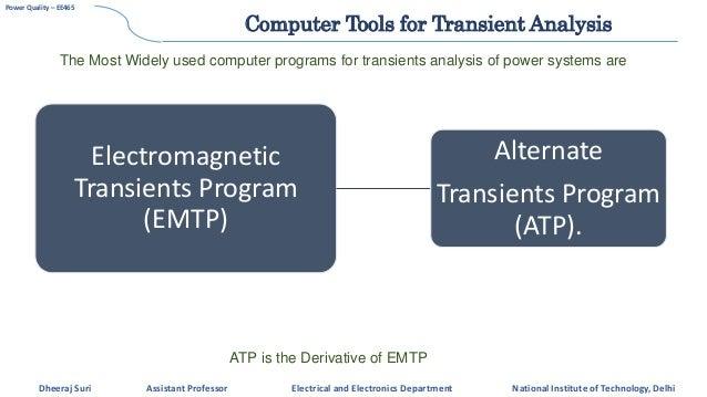 pq3 transient over voltages rh slideshare net Manual for School Health Programs manual atp alternative transient program