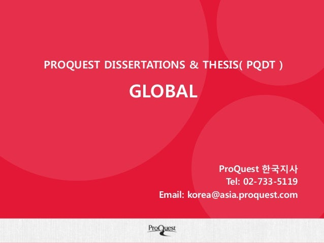 purchase dissertations from proquest Borrowing or purchasing dissertations and theses  digital dissertations,  listed are available for purchase from umi proquest, in a variety.