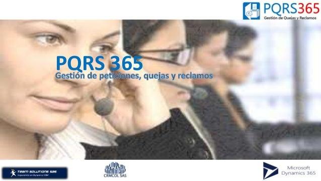 PQRS 365