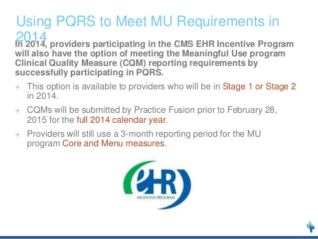 Practice Fusion Webinar Pqrs In 2013 And Beyond