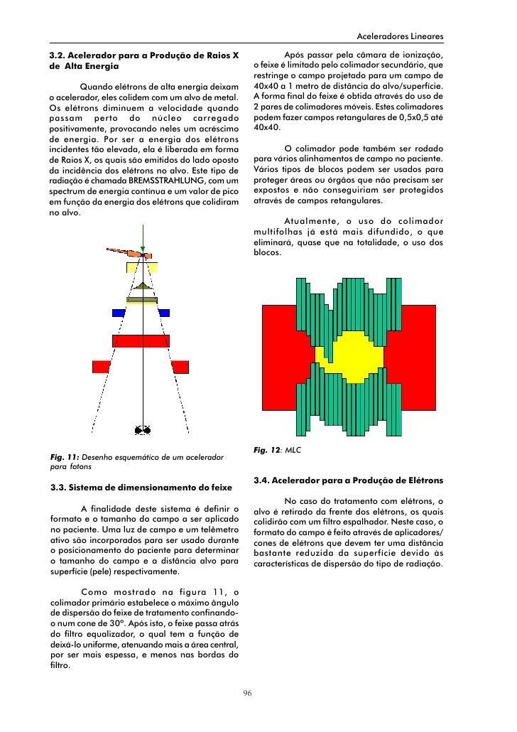 Aceleradores Lineares  3.2. Acelerador para a Produção de Raios X                        Após passar pela câmara de ioniza...