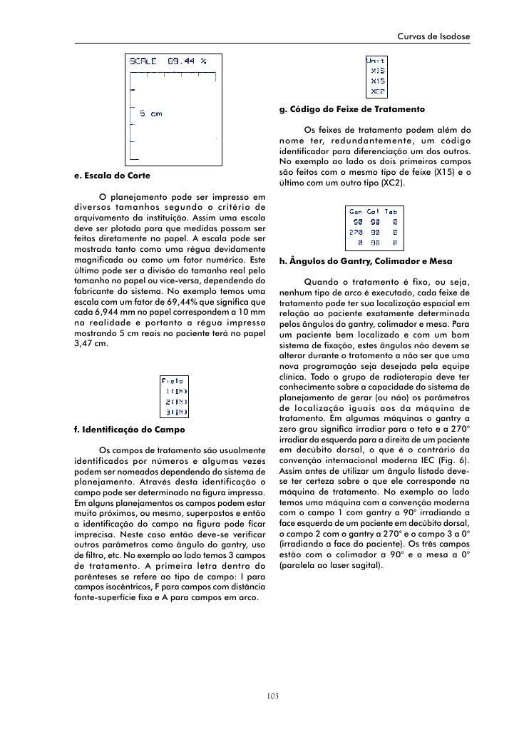 Curvas de Isodose                                                               g. Código do Feixe de Tratamento          ...