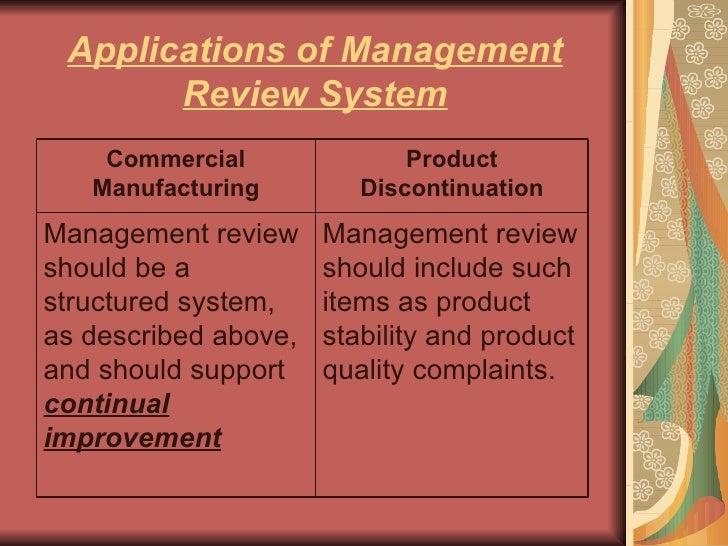 risk management and quaity Quality risk management is a systematic process for the assessment, control, communication and review of risks to the quality of the drug (medicinal) product.