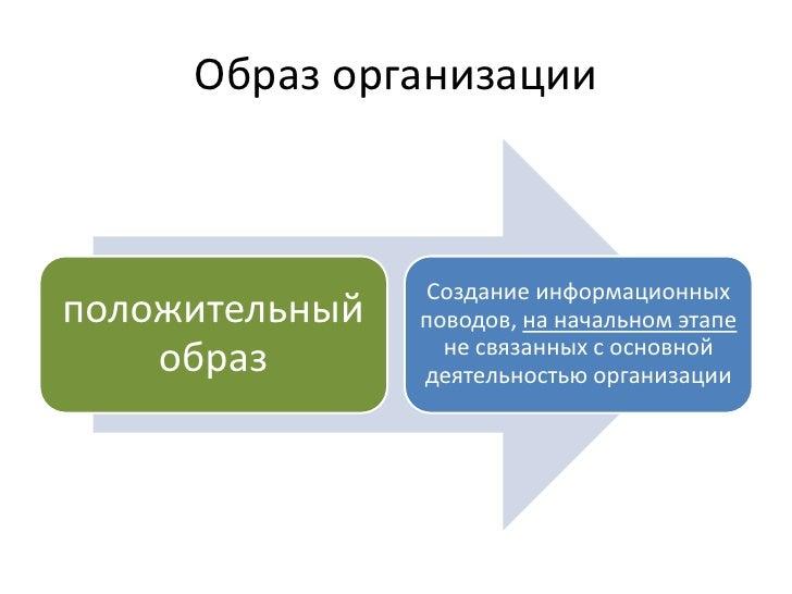 некоммерческие организации и pr