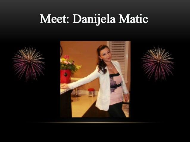 Danijela Matic- Public Relations Digital Resume