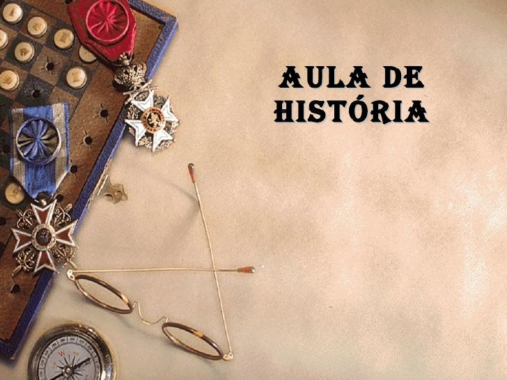 Aula de história