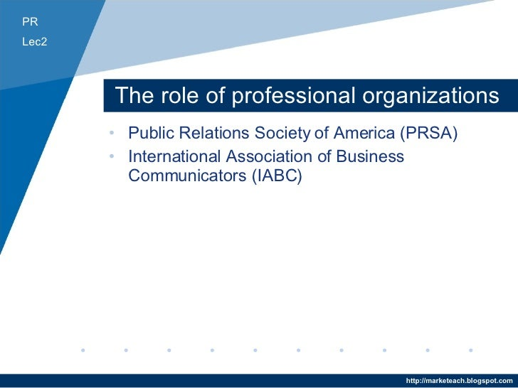 a review of the public relations society of america The public relations society of america (prsa) is the nation's largest professional organization serving the communications community.