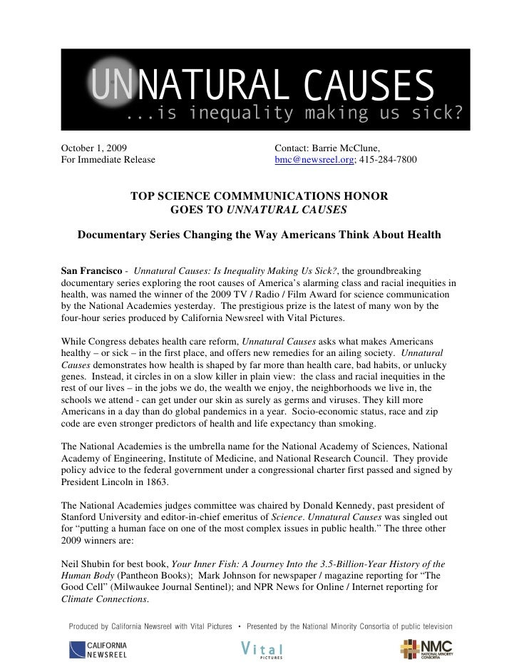 October 1, 2009                                        Contact: Barrie McClune, For Immediate Release                     ...