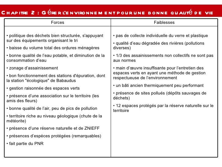 Chapitre 2 : Gérer l'environnement pour une bonne qualité de vie  <ul><li>pas de collecte individuelle du verre et plastiq...