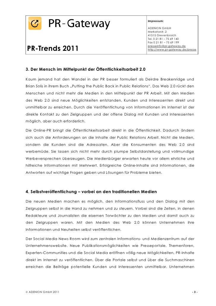 PR-Trends 2011 Slide 3