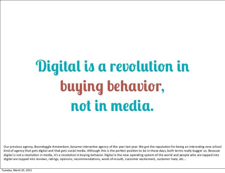 Persuasion eats Advertising for breakfast Slide 2