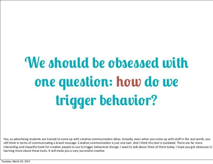 Persuasion eats Advertising for breakfast Slide 3