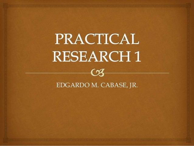 EDGARDO M. CABASE, JR.