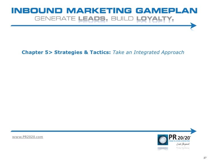 Inbound Marketing GamePlan