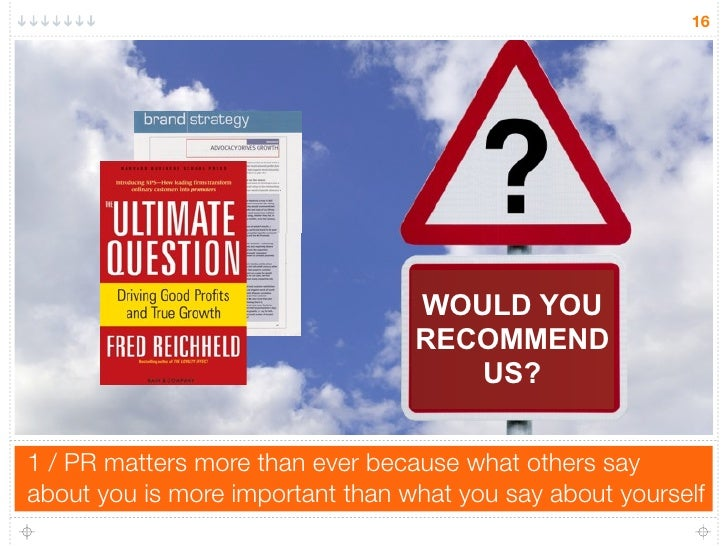 16                                       WOULD YOU                                   RECOMMEND                            ...