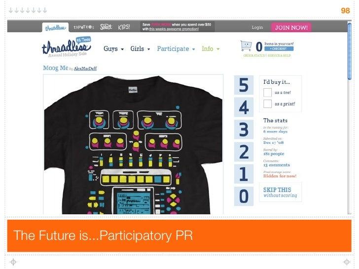 98     The Future is...Participatory PR