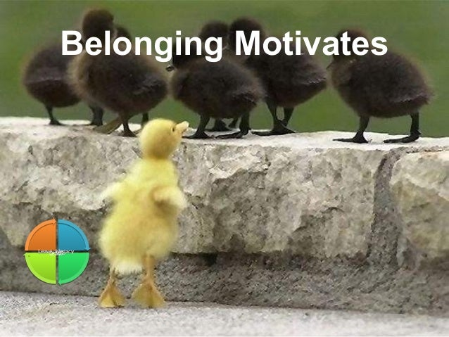 Leadership and Motvaton Skills Mohammad Tawfk #WikiCourses http:////WikiCoursesWWikiSpacesWcom Belonging Motivates LiveLiv...