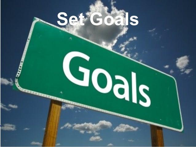 Leadership and Motvaton Skills Mohammad Tawfk #WikiCourses http:////WikiCoursesWWikiSpacesWcom Set Goals