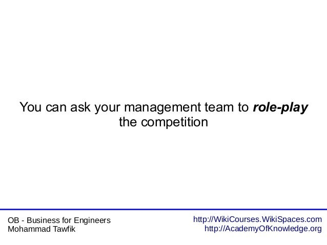 http://WikiCourses.WikiSpaces.com http://AcademyOfKnowledge.org OB - Business for Engineers Mohammad Tawfik You can ask yo...