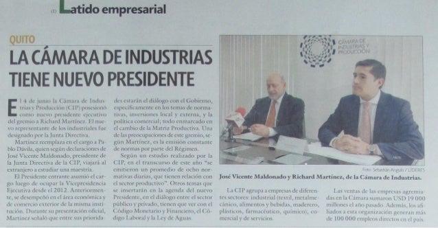 Revista Líderes 09-06-2014