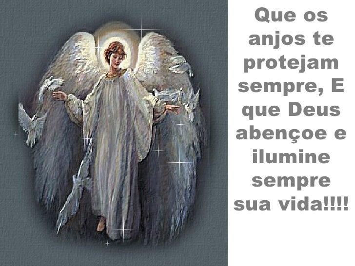 Resultado de imagem para Que os anjos te protejam
