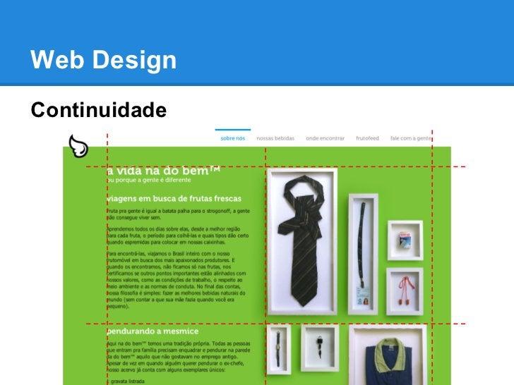 Web DesignContinuidade