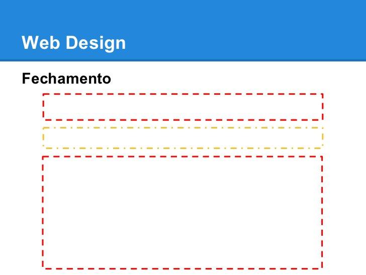 Web DesignFechamento