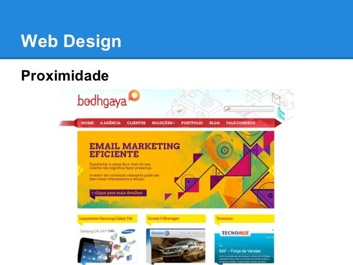 Web DesignProximidade