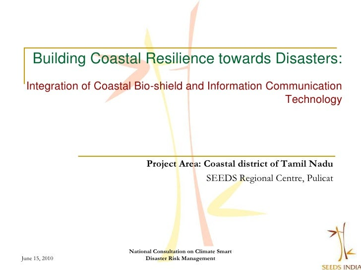 Building Coastal Resilience towards Disasters:  Integration of Coastal Bio-shield and Information Communication           ...
