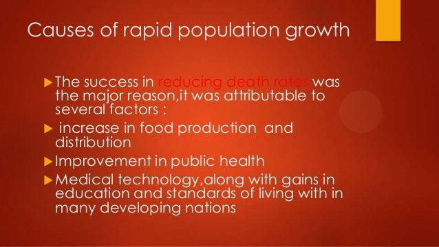 factors of population explosion