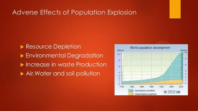effect of population explosion on the 1 chapter 1 effects of population growth and urbanization in the pacific islands more than 35 percent of the people of the pacific islands live and work in towns, and the rate of.