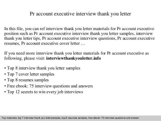 Pr Account Executive - Pr account executive cover letter