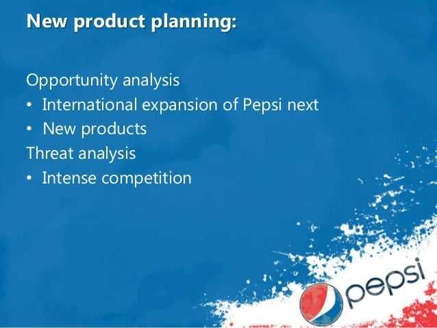 distribution analysis of pepsi Pepsico allowed drinkfinity to operate like a startup as it looks to foster innovation and react faster to new consumer trends.