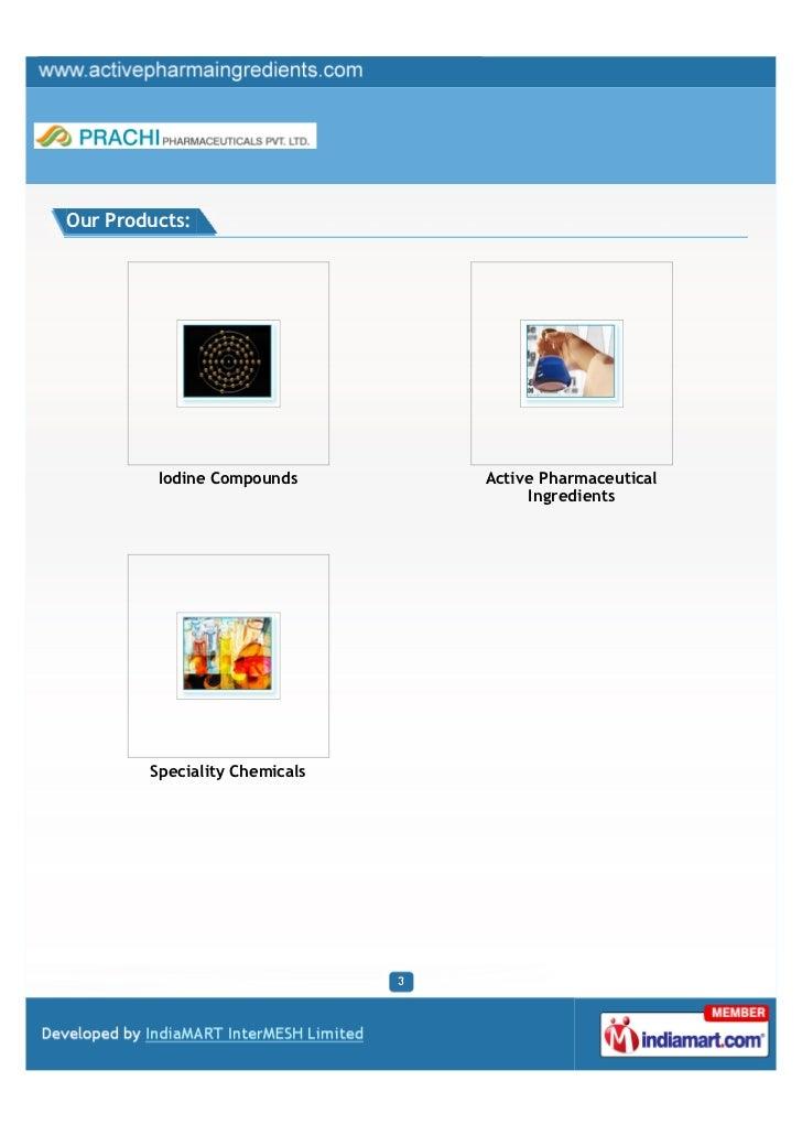 Prachi Pharmaceuticals Private Limited, Mumbai, Iodine Compounds Slide 3