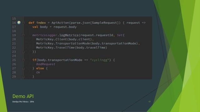 Demo API DevOps Pro Vilnius - 2016 17