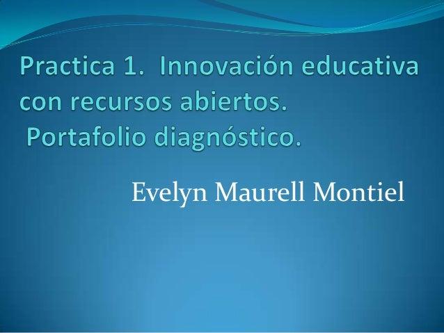 Evelyn Maurell Montiel