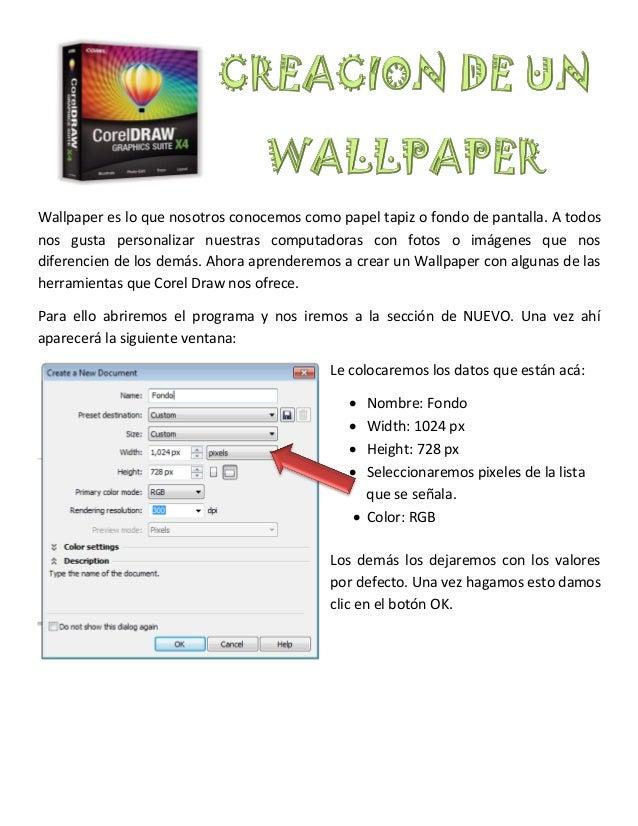 Wallpaper es lo que nosotros conocemos como papel tapiz o fondo de pantalla. A todosnos gusta personalizar nuestras comput...