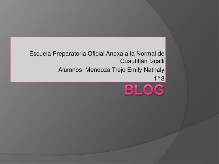 Escuela Preparatoria Oficial Anexa a la Normal de                                 Cuautitlán Izcalli          Alumnos: Men...