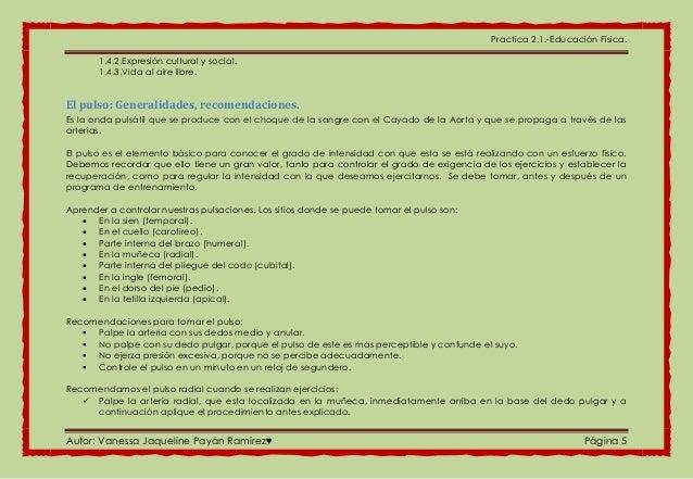 Practica 2.1.-Educación Física. Autor: Vanessa Jaqueline Payán Ramírez♥ Página 5 1.4.2.Expresión cultural y social. 1.4.3....