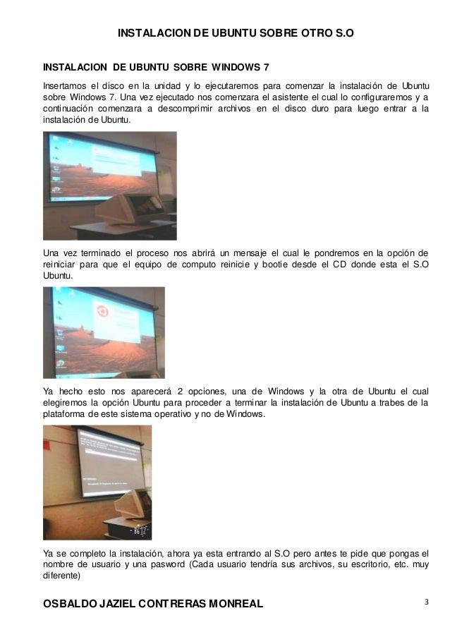 Ubuntu sobre Windows Slide 3