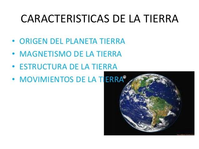 Practica 2 la tierra y uruguay - Caracteristicas de los planetas interiores ...