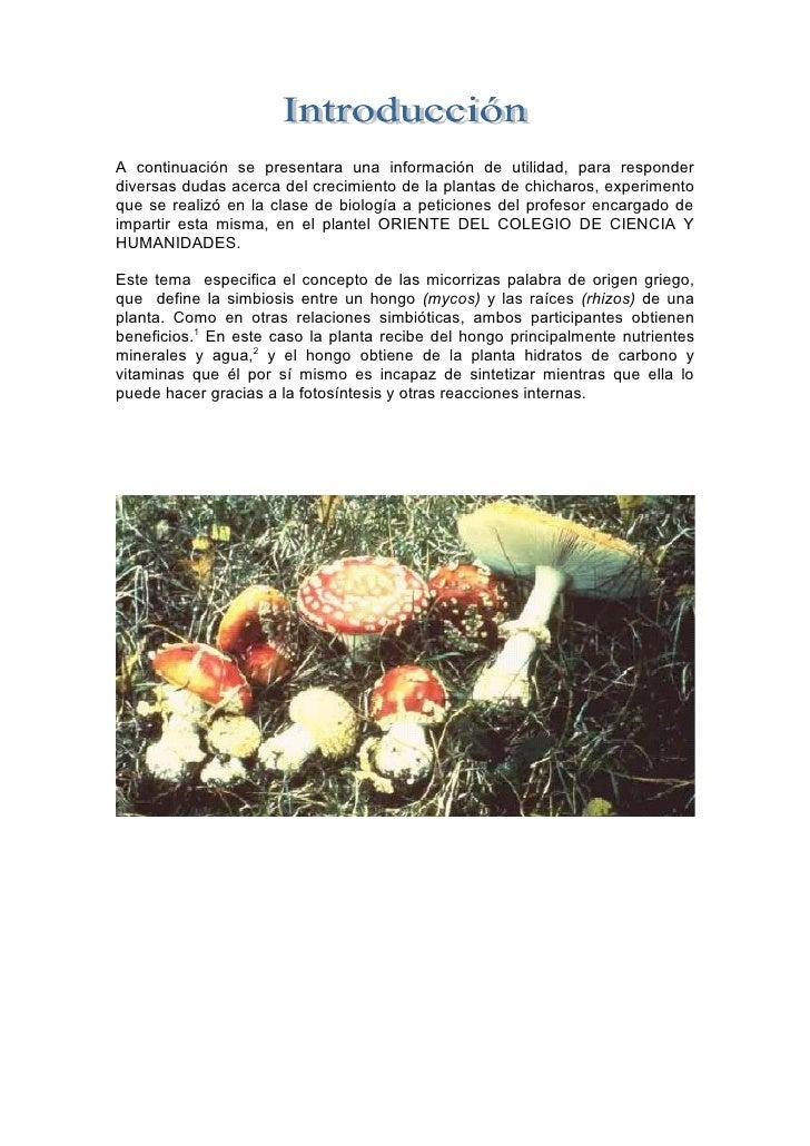 A continuación se presentara una información de utilidad, para responder diversas dudas acerca del crecimiento de la plant...