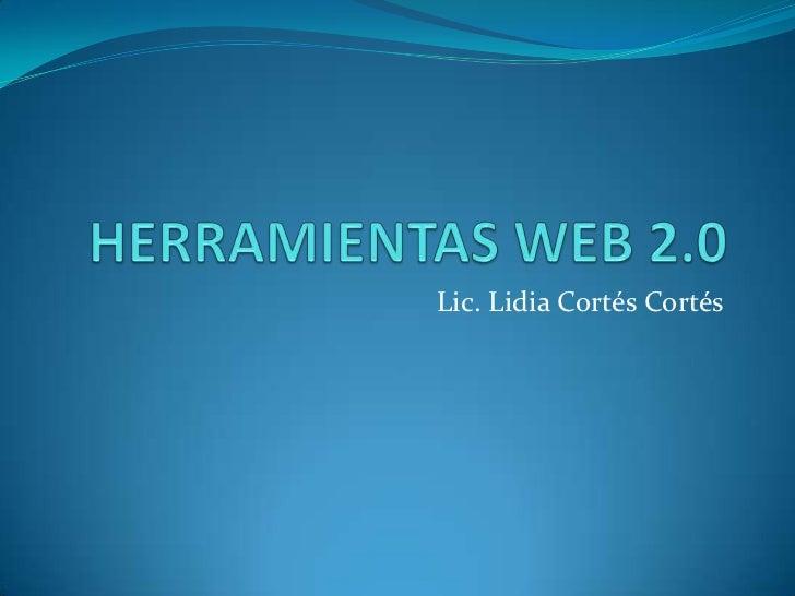 Lic. Lidia Cortés Cortés