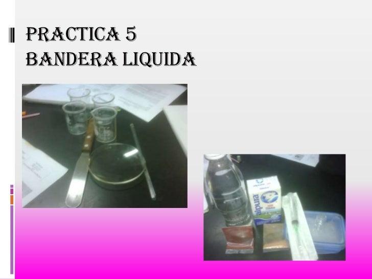Practica 5bandera liquida