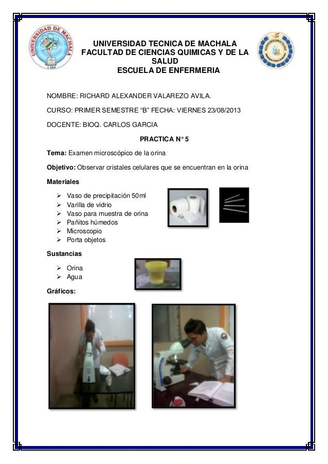 UNIVERSIDAD TECNICA DE MACHALA FACULTAD DE CIENCIAS QUIMICAS Y DE LA SALUD ESCUELA DE ENFERMERIA NOMBRE: RICHARD ALEXANDER...