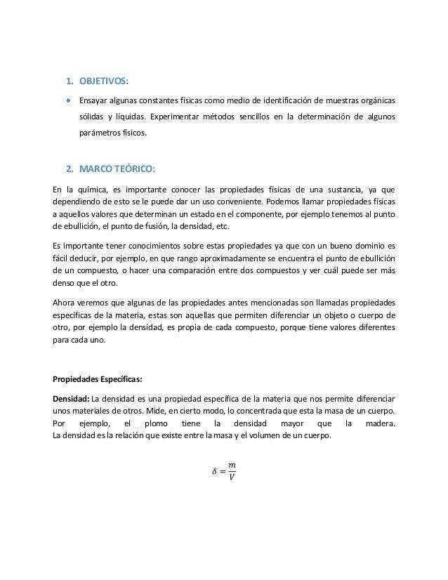 Practica 6 quimica organica propiedades fisicas