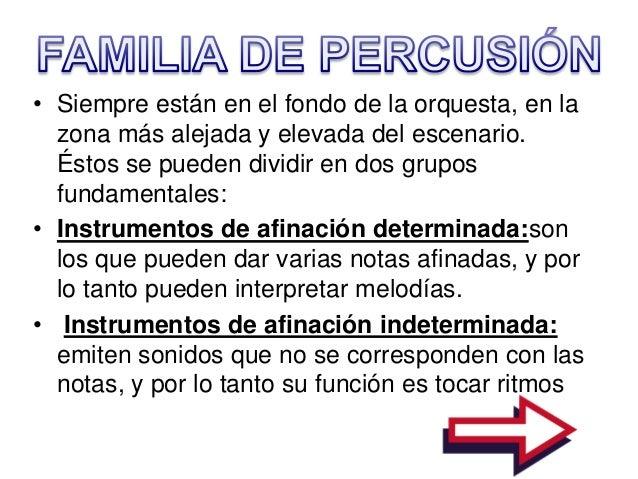Familia de instrumentos para ni os de primaria for Concepto de la familia para ninos