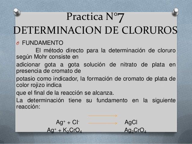 DETERMINACION DE CLORUROS DOWNLOAD